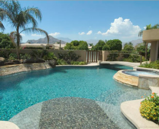 Vinyl swimming pools by superior pools and spas of for Least expensive inground pool